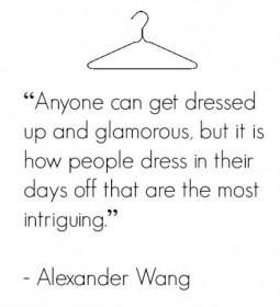 Alexander Wang quote